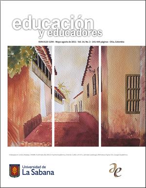 Ver Vol. 14 Núm. 2 (2011): Educación y Educadores